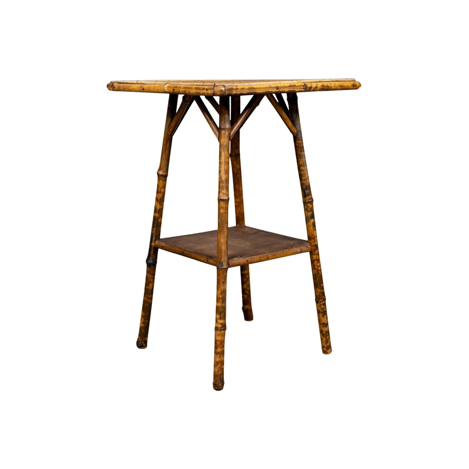 Antique Bamboo Table, Oriental