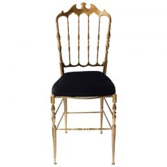 Decorative Brass Chiavari Chair