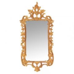 George II Style 19th Century Giltwood Mirror