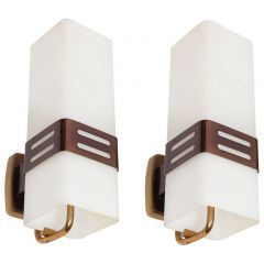 1950s Pair Of Wall Lights By Stilnovo