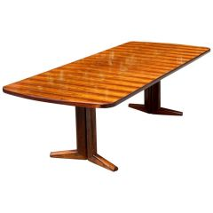 Gordon Russell Rio Rosewood Dining Table by Martin Hall Marwood Range, 1970
