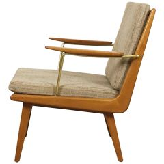 1950s Boomerang Easy Chair by Hans Mitzlaff for Eugen Schmidt, Soloform, Germany