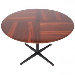 Borsani Adjustable Height Rosewood Table by Tecno T41, Dining or Coffee Table