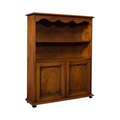 Antique Headmaster's Office Bookcase English Oak, Cabinet, Edwardian, circa 1910