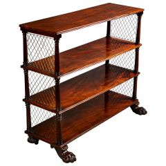 Regency Flame Mahogany Set of Shelves