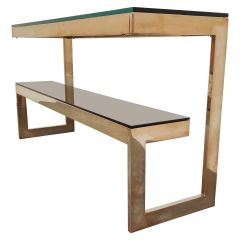 Belgochrom Console Table, 1970s