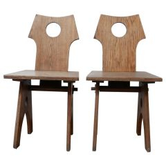 Pair of French Re-Construction Occasional Chairs