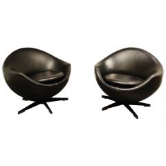 Pair of Mars Lounge Chairs by Pierre Guariche for Meurop, 1965