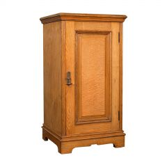 Antique Side Cabinet, English, Ash, Bedroom Night Stand, Pot Cupboard, Victorian