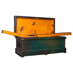 Antique Shipwright's Chest, English, Craftsman's Tool Trunk, Victorian, C.1900