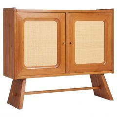 Walnut and Hessian Cabinet by Franz Xaver Sproll