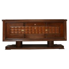 Art Deco French Large Credenza or Sideboard