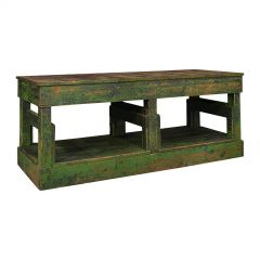 Large Antique Factory Mill Table, English, Pine, Industrial, Victorian, C.1900