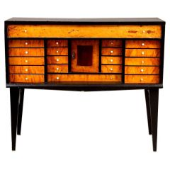 Swedish Biedermeier Antique Chest of Drawers Commode, C. Late 1800s Early 1900s