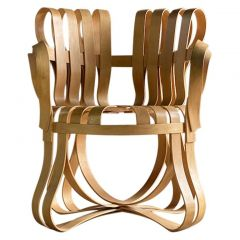 Frank Gehry Cross Check Chair by Knoll, 1993
