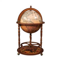 Vintage Decorative Cocktail Globe, Continental, Drinks Trolley, Cabinet, C.1970