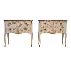 Hummingbird Louis XV Style Chests (Pair) (DaVinci)