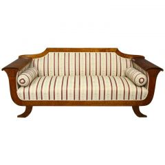 Late 19th Century Three to Four Seater Biedermeier Empire Sofa