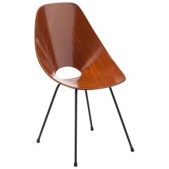 Italian Modern Nobili Moulded Chair