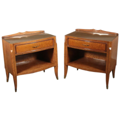 Pair of Osvaldo Borsani bedside tables