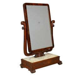 English Victorian Swing Mirror