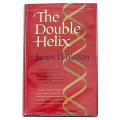 James D. Watson The Double Helix First Edition, 1968