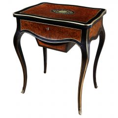 Paul Sormani Exotic Amboyna Work Table