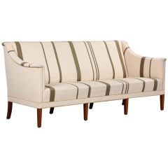 Kaare Klint Sofa with Traditional Savak Wool Designed, 1940