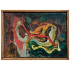 Spanish Abstract Painting
