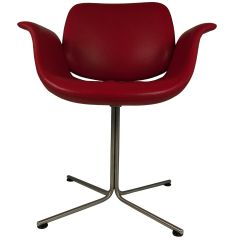 2003 Foersom and Hjorth-Lorenzen Flamingo Armchair in Red Leather
