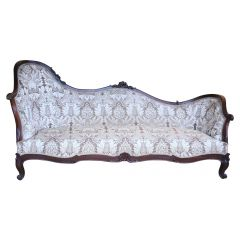 Large Victorian Rosewood Sofa