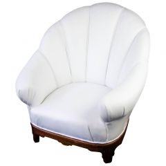 Swedish Art Deco Shellback Armchair