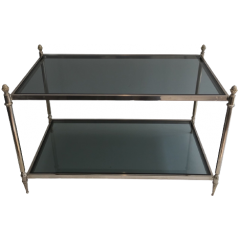 Small Silvered Coffee Table\