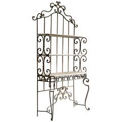 Antique French Bread Display Stand Iron Étagère 19th Century, France, circa 1890