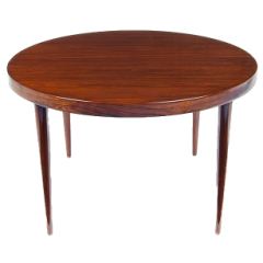 Rosewood Dining Table by Kai Kristiansen, Danish 1950's