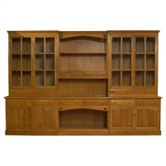 Very Large, Vintage Dresser, Victorian Taste, Ash, Kitchen Cabinet, 20th Century