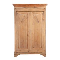 French Sanded Armoire