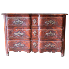 An C18th Polychrome Commode
