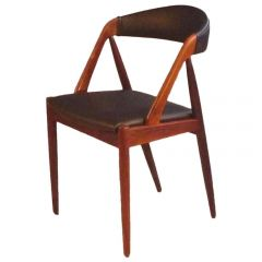 1960s Kai Kristiansen Reupholstered Dining Chairs in Rosewood