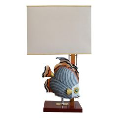 1970'S French Hollywood Regency Table Lamp