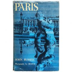 Paris Photographs by Brassai text by John Russell 1st Edtion 1960
