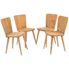 "Set of Four ""Svensk Fur-Karl Andersson and Soner"" Chairs"