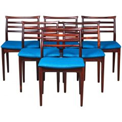 Danish Rosewood Dining Chairs by Erling Torvits for Sorø Stolefabrik, 1960s, Set of 6