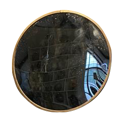A Large Early C20th Convex mirror