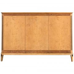 Art Deco Satin Birch Sideboard