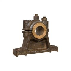 Antique Engine Bearing, English, Cast Iron, Bronze, Desk, Paperweight, Ornament