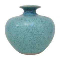 Turquoise Ceramic Posy Vase by Louis Mulcahy