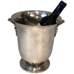 Silver Plated Champagne Bucket. French. Circa 1930