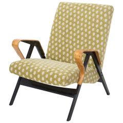 Beige Midcentury Armchair from Tatra, 1960s