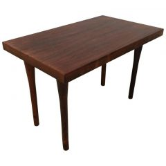 1962s Danish Rosewood Coffee Table By Nanna Ditzel